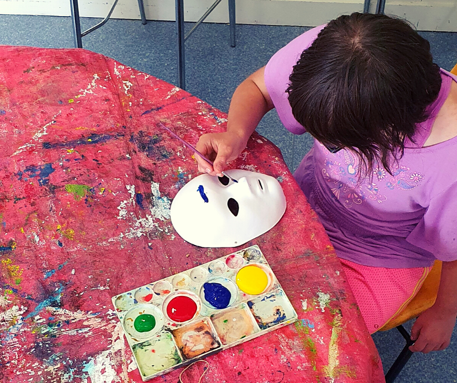 Teens_Disability_CommunitiesATWork_Painting