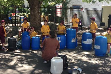 Monash Holiday Program – Trash Percussion