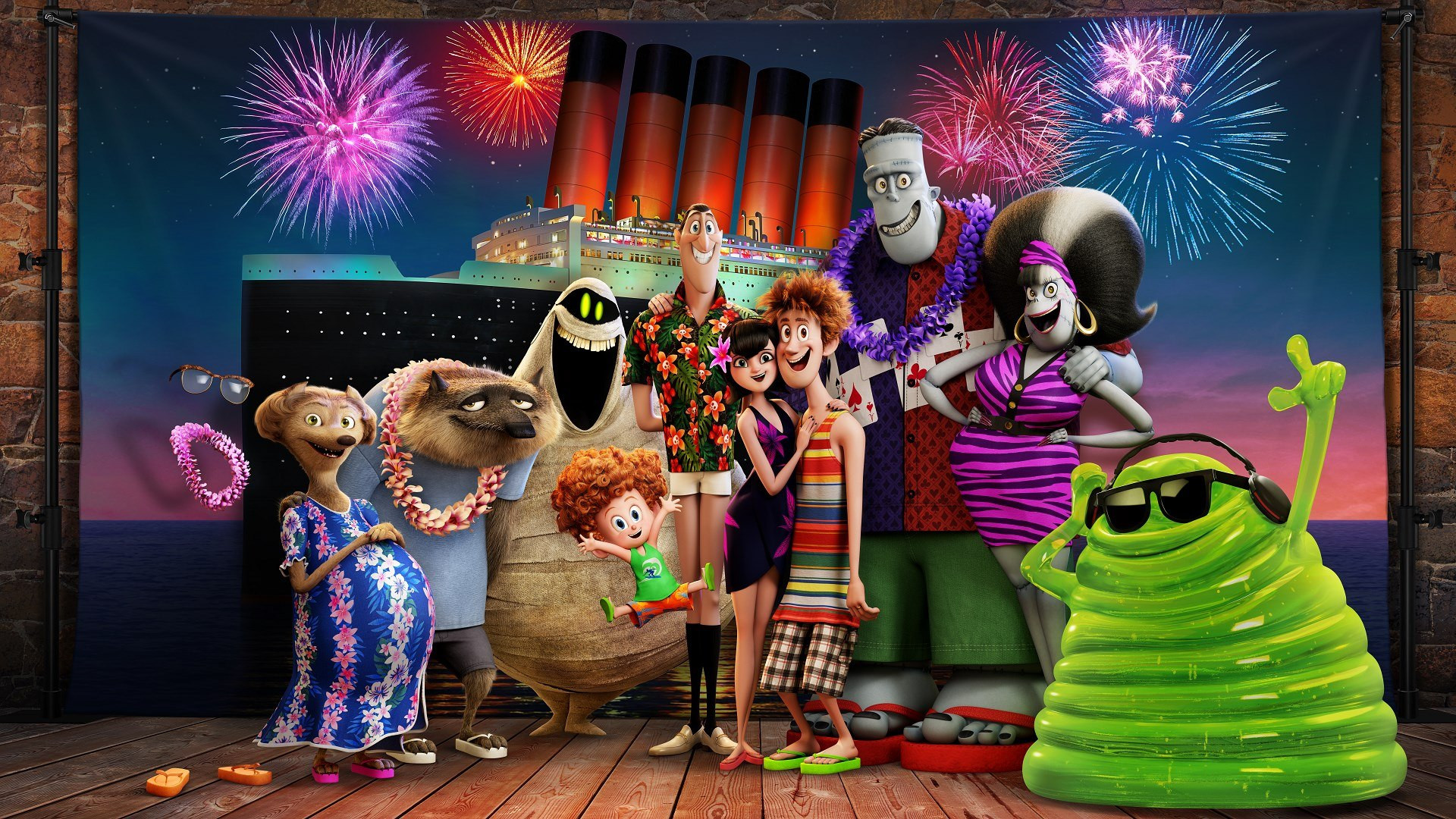 Image Hotel Transylvania 3 school holiday program July Winter 2018 Communities@Work