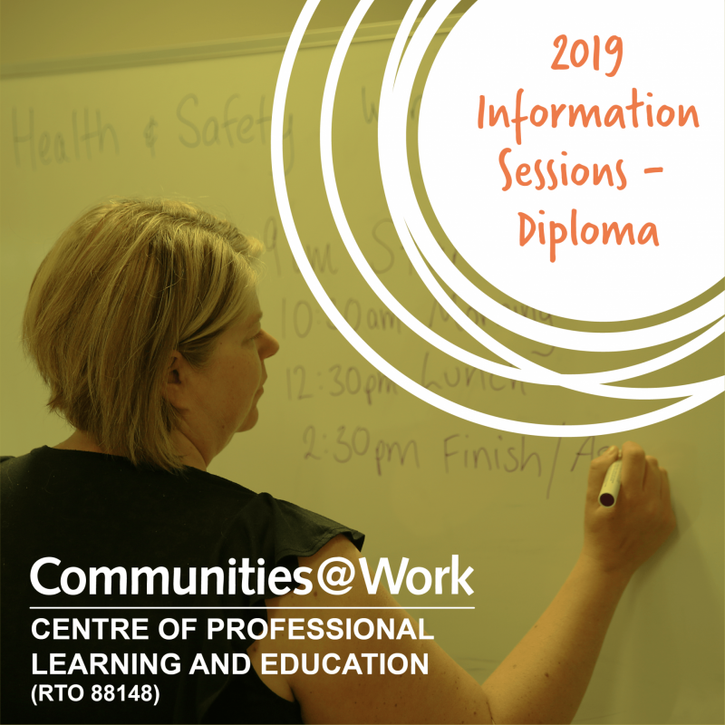2019 Information Session – Diploma in Early Childhood Education and Care