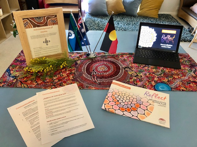 Reconciliation Action Plan Launch Communities@Work