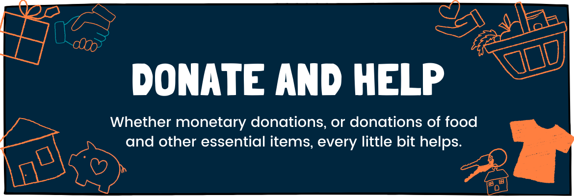 Donate food and other essentials to Communities@Work